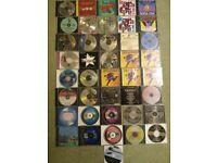 Karaoke discs.
