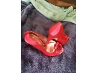 Monsoon pink heels