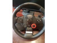 Logitech Driving Force GT Racing Wheels