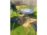 Free - Garden table and chairs