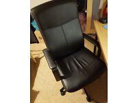 Ikea MILLBERGET Swivel chair +/- Table