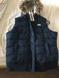 Ladies Superdry Bodywarmer Large