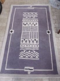 Modern Design rug For Sale, Used Only For House Dressing.