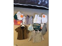 Box of Boy baby clothes
