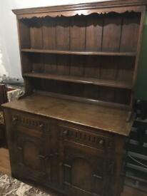 Dark Oak Welsh Dresser sideboard