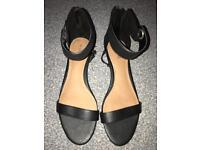 NEXT Black Sandals BRAND NEW