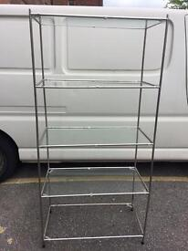 Display shelves ideal for shop house storage