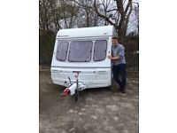 Swift Provence 2 berth caravan for sale - great condition