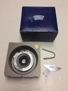 Schneider-Kreuznach 90mm f6.8 Augulon large format lens Synchro-Compur shutter with Linhof board 90 days warranty