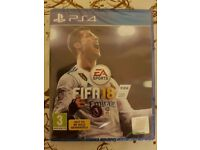Selling FIFA 18 PS4 - Brand New & Sealed! + Rare Pack!