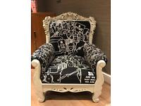 Rare Insight Skull Arm Chair