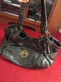 Dark green Nica handbag