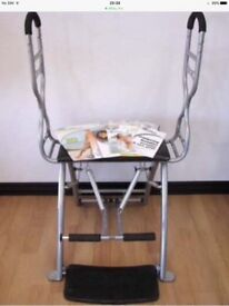 Pilates chair and handles