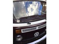 VW Campervan needing restoration