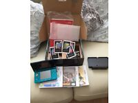 AS NEW 3DS BOXED WITH CHARGERS AND GAMES