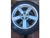 Mitsubishi Outlander warrior 18in alloy wheels