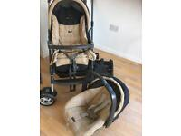 Mamma and papas pushchair