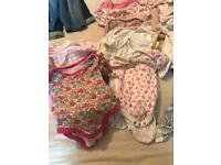 Small newborn baby girls clothes