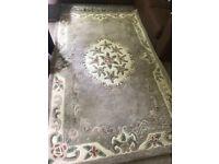 100% large wool rug