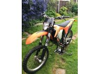 Ktm 150 road legal motocross bike recent rebuild lots of spares immaculate machine yz rm cr kx
