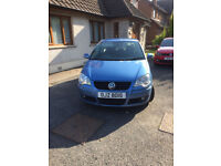 FOR SALE 2009 VOLKSWAGON POLO 1.2 BLUE 3 DOOR, PETROL