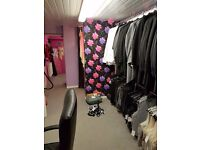 2 rooms to rent in busy bridal shop