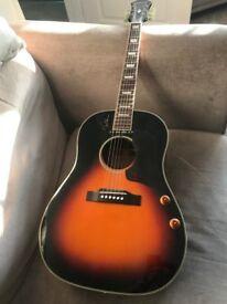 Epiphone EJ160E John Lennon signature semi acoustic guitar - perfect condition