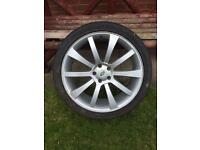 "4 x 22"" Range vogue alloys"