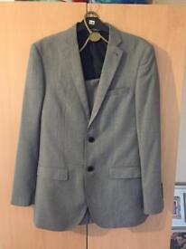 Men's suit and shirt