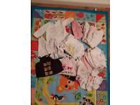 Bundle 0-3 month girls clothes