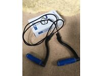 Pro fitness resistance cord as new in box