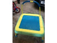 Toddler/Baby Trampoline with free indoor/outdoor paddling pool!