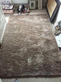 Mink shimmer rug