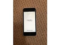 iPhone 5C 16gb white - screen damaged - unlocked