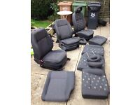 Vw front and back seats job lot