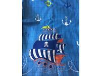 Next brand blackout children's pirate theme curtains