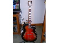 HOYER 1950s ARCHTOP GUITAR