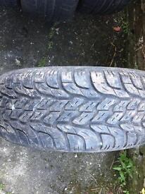 Yokohama 4x4 tyre