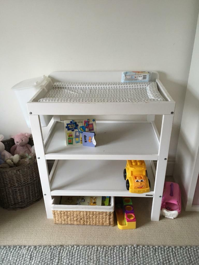 John Lewis baby change table