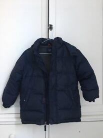 Boys winter coat from GAP kids age 6/7.