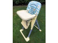 Baby high chair - good contion
