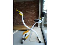 Foldable Exercise Bike - Ultrasport F-bike 200B