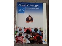 AQA AS Sociology by Nelson Thornes (Exclusively endorsed by AQA)