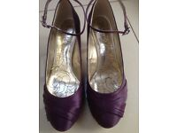 Next, ladies special occasion shoes, size 9