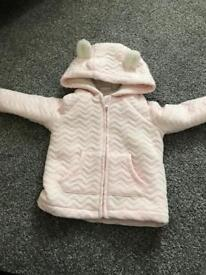 Baby girl jacket 9-12 Months F&F