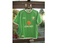 REPUBLIC OF IRELAND EIRE FOOTBALL SHIRT - MEDIUM - 2006/2008