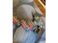 Bosch sds drill 36v 3 batteries and charger price negotiable