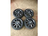 Vauxhall Corsa C Irmscher 16 inch alloys 4x100