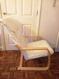 Poang style chair