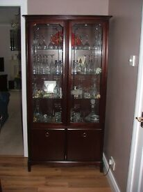 Stag Minstrel Display Cabinet in need of a new home